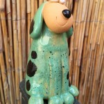 Charlie zeleno-fľakatý