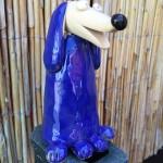 Foxy tmavo modrý