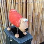 Piggy červený